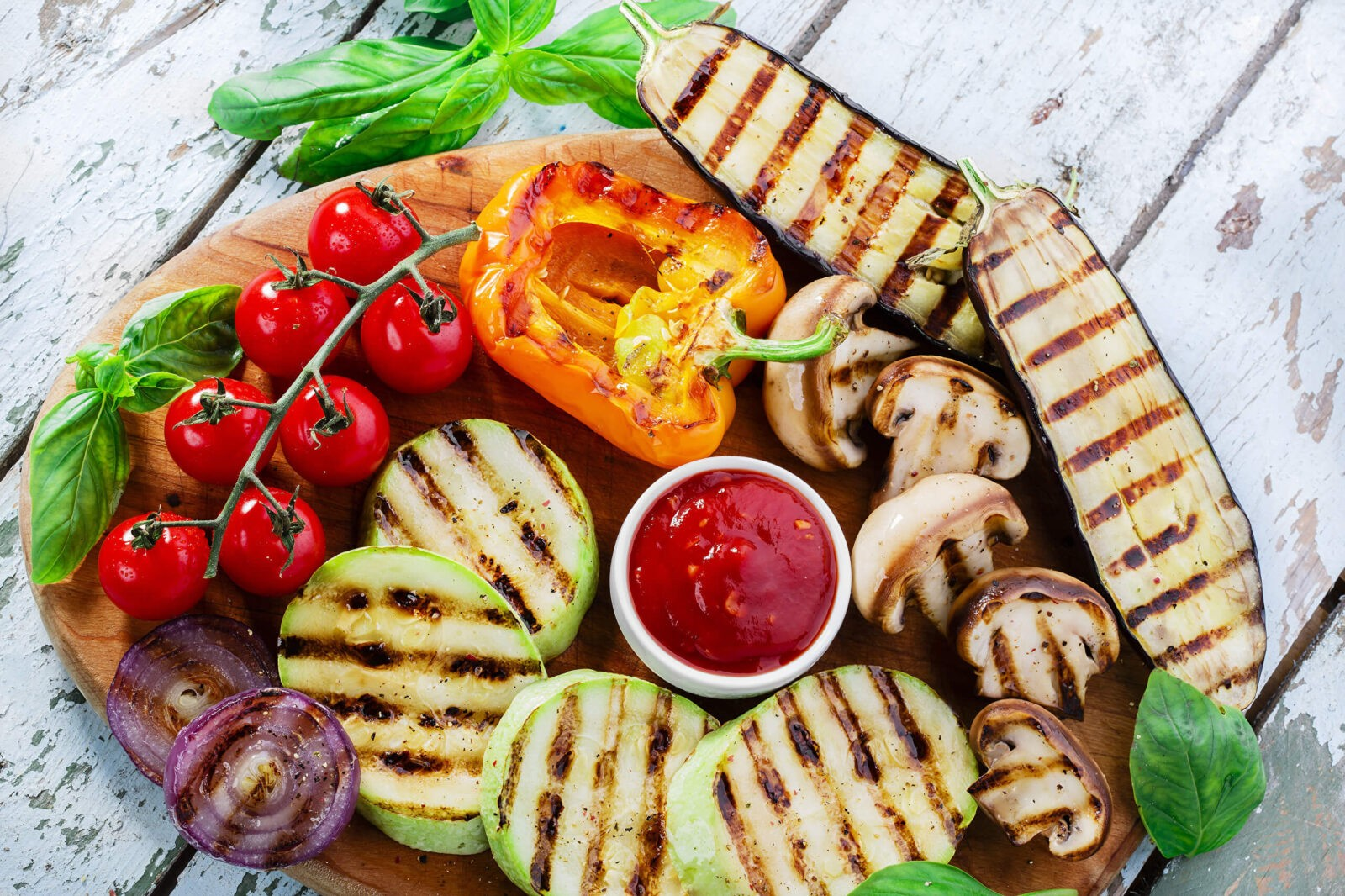 How to cook grilled vegetables 2